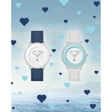 Mein Schiff Armbanduhr im Valentinstags-Set