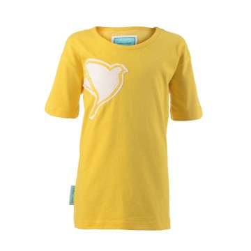 Kinder T-Shirt Gelb