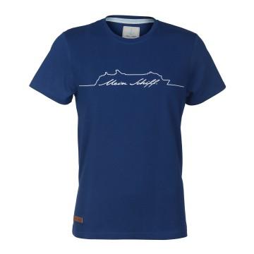 Herren T-Shirt Dunkelblau