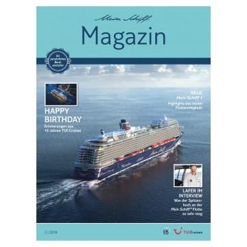 Mein Schiff Magazin 2/2018