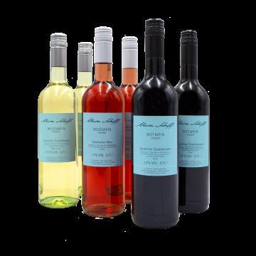 2 Rotwein 2 Rosewein 2 Weißwein