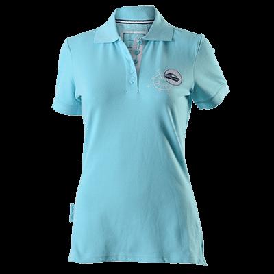 Damen Poloshirt Türkis